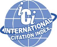 Indexed by International Citation Index OF JOURNAL IMPACT FACTOR & INDEXING
